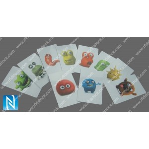 Famille Monstro (Lot de 10 cartes NFC)